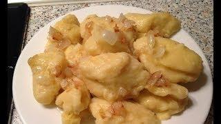 Украинские клецки вкусные и аппетитные