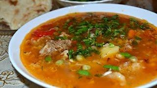 Суп Мастава - традиционное узбекское блюдо.