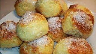 Творожные булочки за 15 минут Самый простой и быстрый завтрак Рецепт теста для булочек без дрожжей