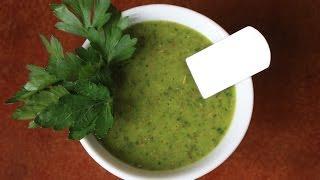 Рецепты соусов: Соус к мясу Чимичурри (рецепт)