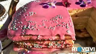 Торт на кефире. #выпечка #торт #вкусняшки #cake #tarte #yummy #gateau #pastel #рецепт