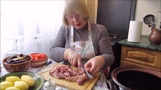 Баранина - рецепт чанахи