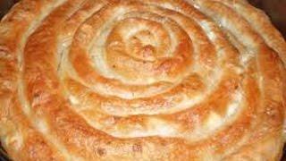 Болгарский завтрак Баница Секретьi приготовления