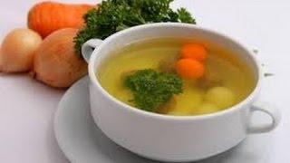 Овощной бульон - основа жидких блюд и супов.