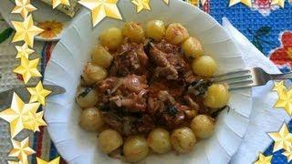 Баранина в духовке.Итальянская кухня.