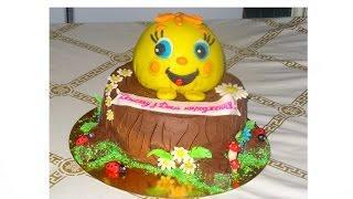 Кремовые торты для детей Мои работы Cream cakes for children