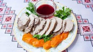 Мясные блюда Как приготовить свинину отварную в маринаде Свинина рецепты Варена свинина в маринаді