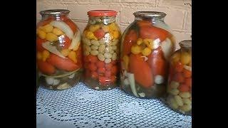 Заготовки на зиму. Консервирование томатов  (2 часть) Итоги консервации