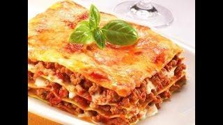 Лазанья болоньезе | Итальянская кухня