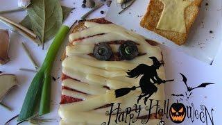 Бутерброды на хэллоуин № 102 Супер рецепт