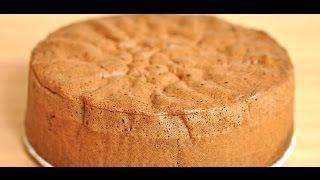 Бисквитное тесто со сгущенкой