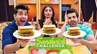 Sandwich Challenge | Rimorav Vlogs