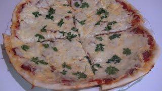 Итальянская пицца по домашнему,рецепт теста.