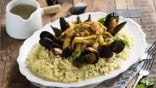 Сицилийский кускус с рыбой и морепродуктами