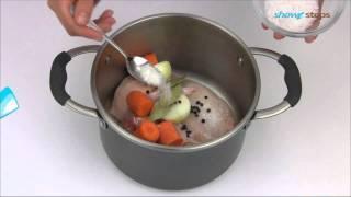 Как приготовить куриный бульон.