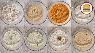 8 рецептов крутых сметанных соусов. Доступные и быстрые соусы на сметане к мясу, рыбе и овощам.