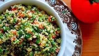 """Салат """"Табуле""""   Французская кухня"""