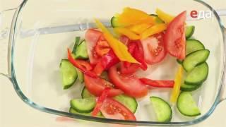 Нежный салат из свежих овощей без лука и чеснока / от шеф-повара /  Илья Лазерсон / Обед безбрачия