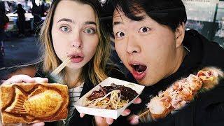 Обзор Корейской Уличной Еды