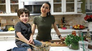 Армянский Салат с Оливками Базркани - Рецепт от Эгине - Heghineh Cooking Show in Russian