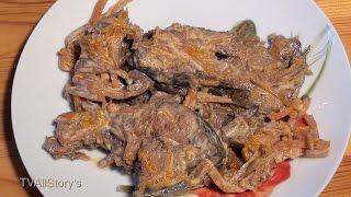 Рыба ЧОЛЕНТ-ФИШ в Скороварке (еврейская кухня)