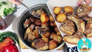 Как приготовить казан кебаб из баранины с картошкой по узбекски: рецепт приготовления пошагово