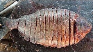 Приготовление Морской Рыбы - Помидоры,Лук,Манго~ИНДИЙСКАЯ Кулинария