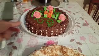 VLOG: День Рождения Лёши. Курица в казане. Вкусные торты