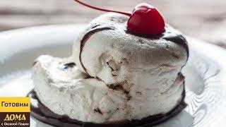 """Десерт за 30 секунд. Самый вкусный быстрый десерт в мире! """"Плавающий остров"""" в микроволновке"""