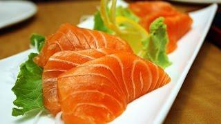 Уличная еда Японии - Сашими