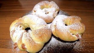 """Пасхальные булочки """"Колечки"""". Итальянский рецепт"""