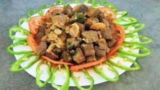 Тжвжик из говяжьей печени (Армянская кухня)рецепт от Inga Avak