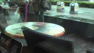 НИДЕРЛАНДЫ: Интернет есть... сидим в кафе в Амстердаме... Голландия Amsterdam