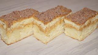 Домашнее бисквитное пирожное.Просто вкусно