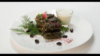 Долма из баранины с мятным соусом | Мясо. От филе до фарша