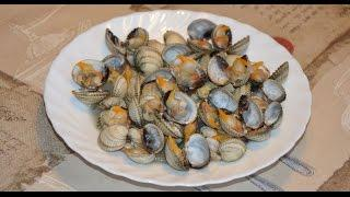Моллюски на пару. Испанская кухня