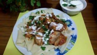 Хингял!!!(азербайджанское блюдо!!! Очень вкусное, ароматное, с пикантным кефирно-чесночным соусом!!!