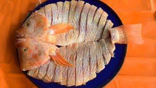 Таиланд Морепродукты - Навыки Мастерства Разделки Рыбы Для Сашими
