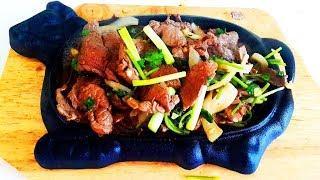 Китайская кухня.  Говядина по-пекински