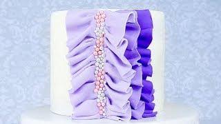 Как украсить торт ☆ Вкусный пудинговый торт с кремом из белого шоколада