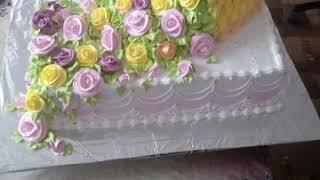 Мои работы))Торты украшенные Белково Заварным Кремом))Cakes decorated with Belkovo Custard Cream)))