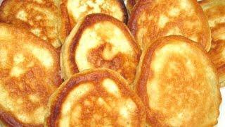 Вкусно -  Пышные #ОЛАДУШКИ Как Приготовить Вкусные  #ОЛАДЬИ на Кефире