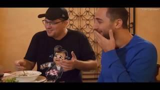 Харламов и Карибидис угадывают названия армянских блюд  (Ереван 2018) Comedy Club в Армении