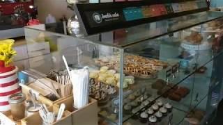 Пуэрториканское кафе. Город Сан Хуан, Пуэрто Рико.#санхуан#пуэрторико #travel #выпечка #путешествия