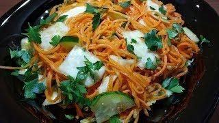 Салат, который первым сметут со стола. А готовится он быстро и просто. Очень вкусно.