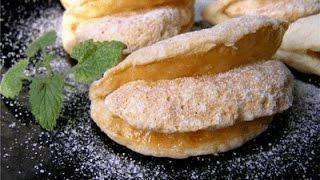 Мини пирожные Карамельные язычки