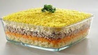 Салат мимоза рецепт салата мимоза   салаты на праздничный стол