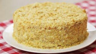 Торт НАПОЛЕОН БЕЗ выпечки за 15 МИНУТ. Самый Быстрый и Простой
