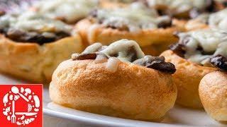 Супер Закуска на Праздничный стол! Йоркширские пудинги с грибами