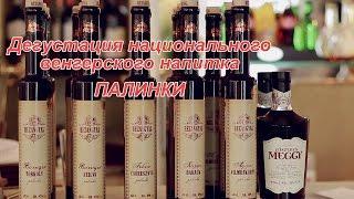 Дегустация национального венгерского напитка ПАЛИНКИ и рецепты венгерской кухни